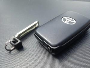 トヨタ車で多くみられる鍵の形状