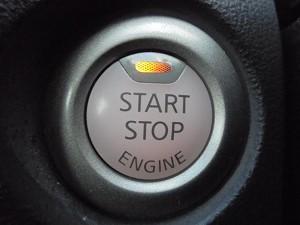 ジュークのプッシュスタートボタン見本