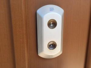 MIWA製 玄関錠ダブルロック交換