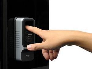 指紋認証錠