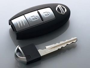 ニッサン車で多くみられる鍵の形状